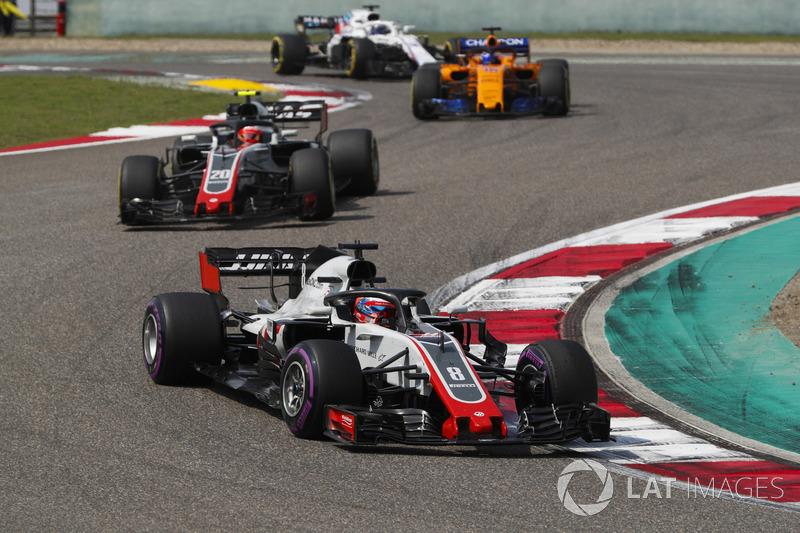 17e Romain Grosjean, Haas F1 Team VF-18 Ferrari