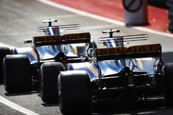 Карлос Сайнс-мол., Ніко Хюлькенберг, Renault Sport F1 Team RS17