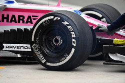 Force India VJM11 front wheel