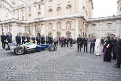 Paus Francis, Alejandro Agag, CEO, Formula E