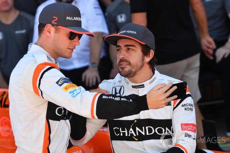 Фернандо Алонсо, Стоффель Вандорн, McLaren