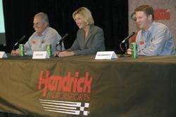 Rick Hendrick, Dawn HudsonDale Earnhardt Jr.