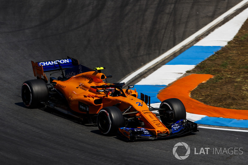19. Stoffel Vandoorne, McLaren MCL33
