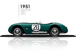 1951 Jaguar XK 120C