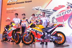 Marc Marquez, Repsol Honda Team, Dani Pedrosa, Repsol Honda Team, Alberto Puig, Repsol Honda Team Manager