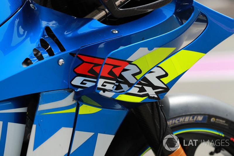 Fairing of Andrea Iannone, Team Suzuki MotoGP