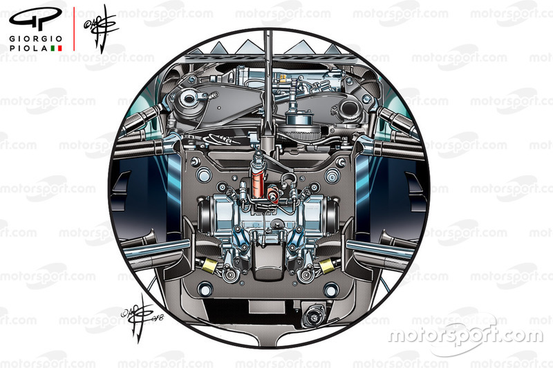 Передняя подвеска Mercedes W09