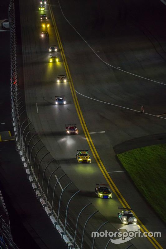 #22 Alex Job Racing, Porsche 991 GT3 R: Cooper MacNeil, Leh Keen, David MacNeil, Gunnar Jeannette, S