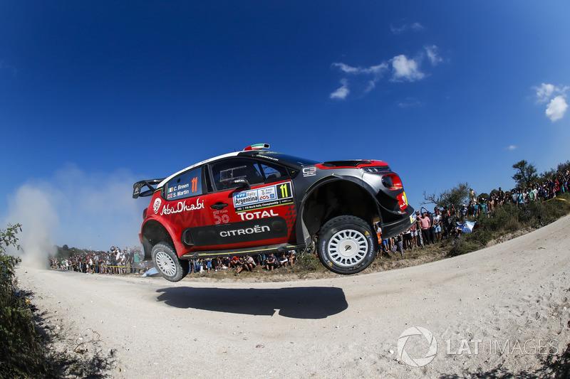 9. Craig Breen, Scott Martin, Citroën C3 WRC, Citroën World Rally Team