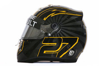 New helmet design of Nico Hulkenberg