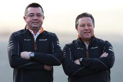 Eric Boullier, Zak Brown, McLaren