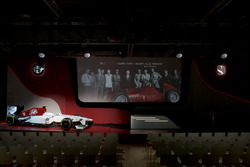 Alfa Romeo Sauber livery onthulling