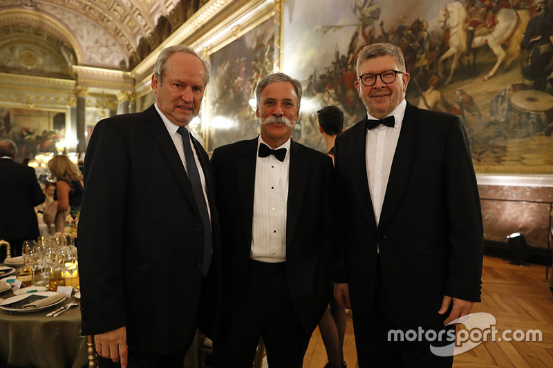 Chase Carey, Presidente Formula One, Ross Brawn, Formula One Director General de Motorsports
