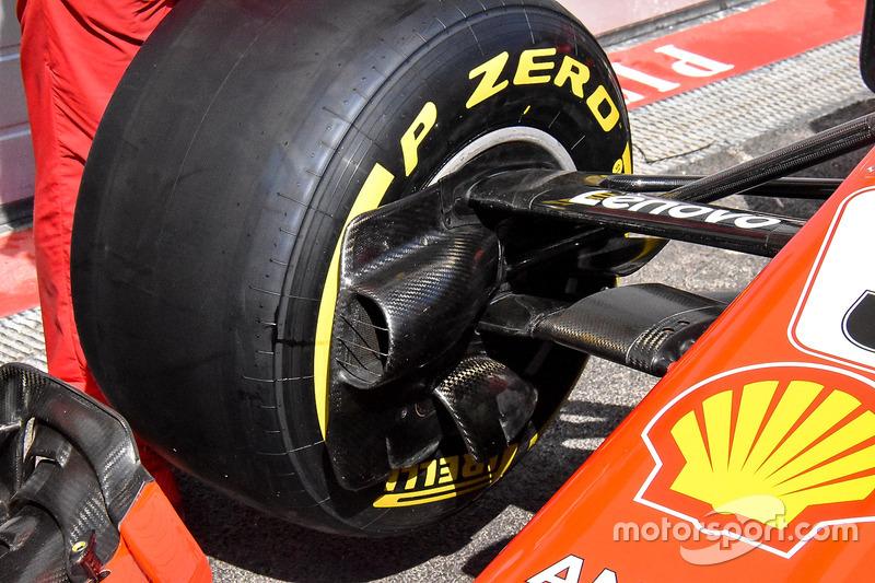 Conducto de freno del Ferrari SF71H