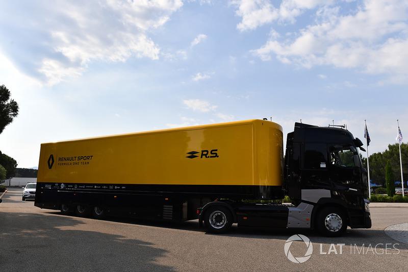 Renault Sport F1 Team camión