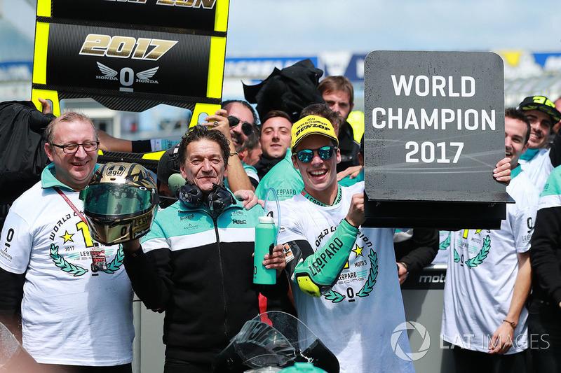 Champion Joan Mir, Leopard Racing