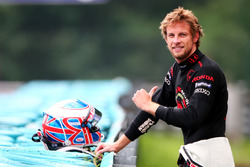Jenson Button, Honda RA106, a bordo pista