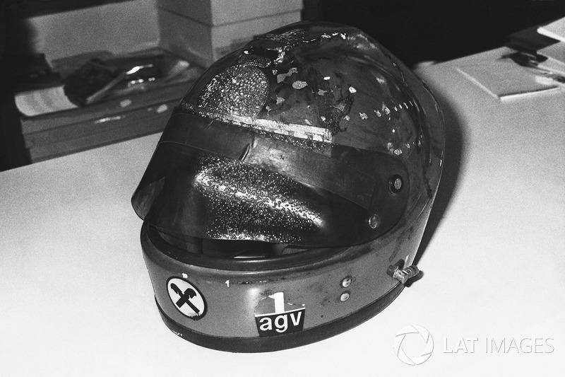 Il casco bruciato di Niki Lauda, Ferrari