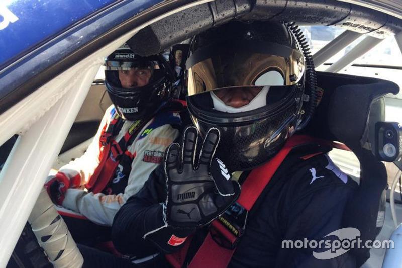 Усэйн Болт, тесты Porsche 911 GT3