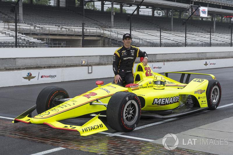 2°: Simon Pagenaud, Team Penske Chevrolet