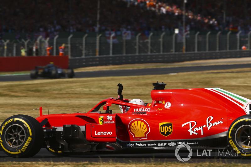 1º Sebastian Vettel, Ferrari SF71H (610 vueltas)
