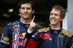 Polesitter Sebastian Vettel, Toro Rosso, Mark Webber, Red Bull Racing