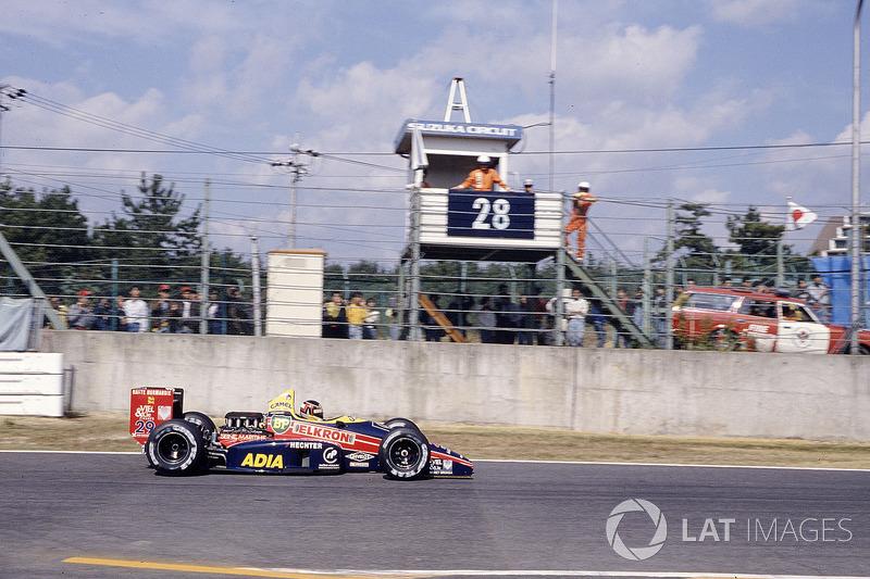 Агури Сузуки, Larrousse/Lola LC88