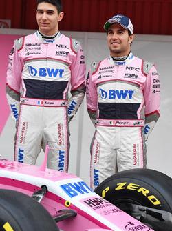 Естебан Окон та Серхіо Перес, Sahara Force India
