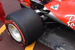 Ferrari SF71H rear suspension