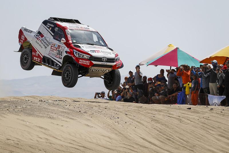 3. #304 Toyota Gazoo Racing Toyota: Жінель де Вільєр, Дірк фон Цітцевітц