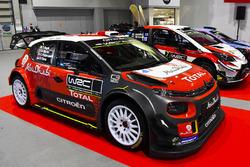 Citroen C3 WRC, Hyundai i20 Coupe WRC, Toyota Yaris WRC