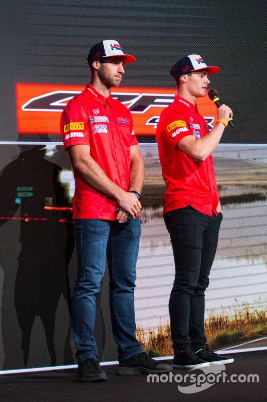 Brian Bogers dan Tim Gajser, Team HRC