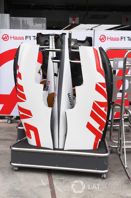 Haas F1 Team VF-18, carrozzeria