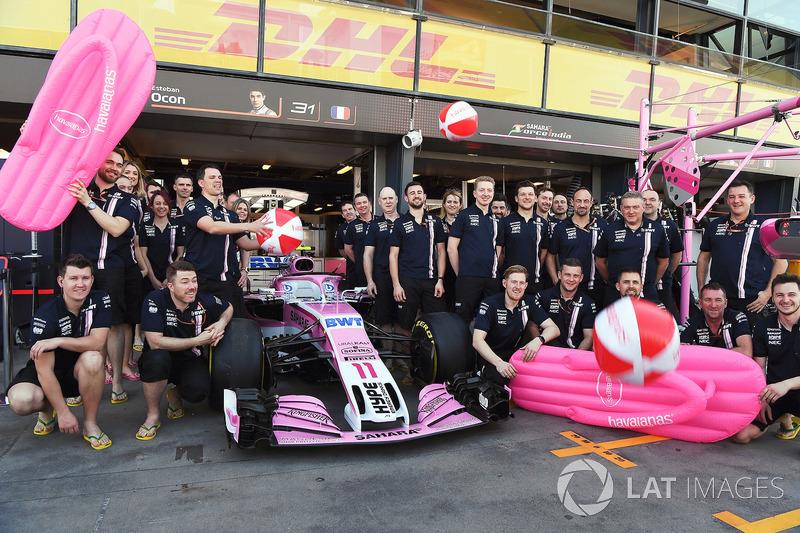Havaianas sponsort de Force India