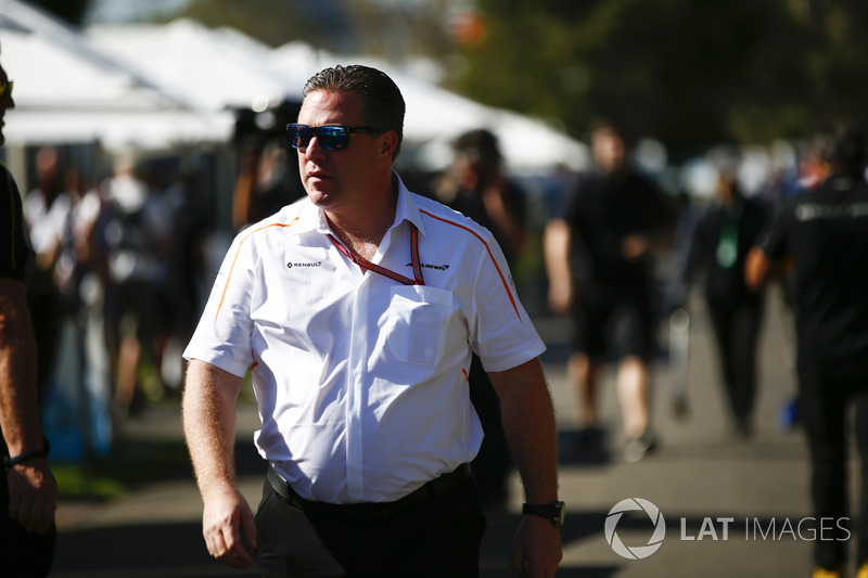Zak Brown, Executive Director, McLaren Technology Group