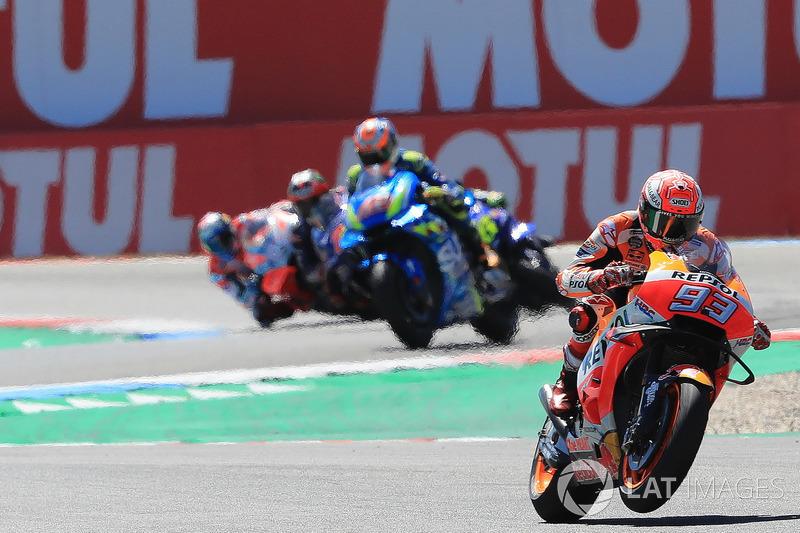 Marc Marquez, Dani Pedrosa, Repsol Honda Team leads