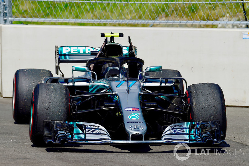 Valtteri Bottas, Mercedes-AMG F1 W09 abandona