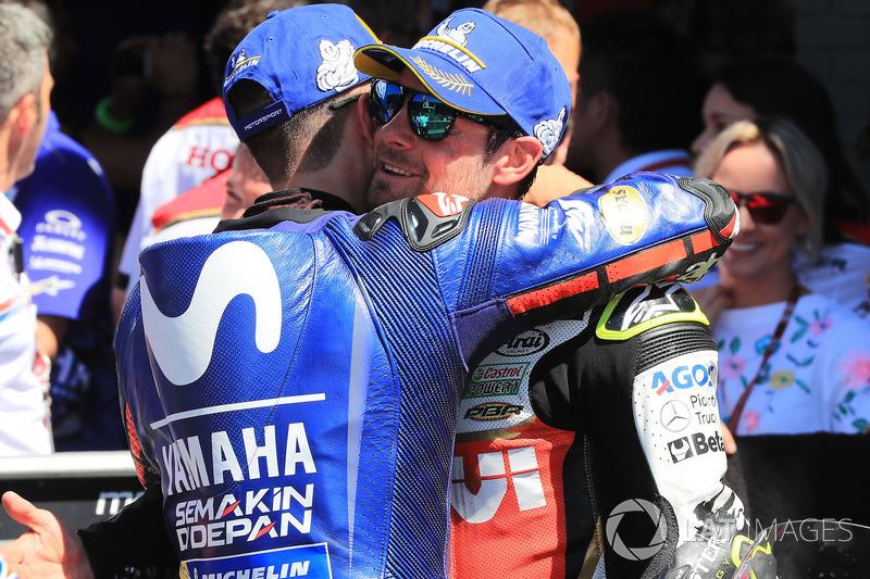 Maverick Viñales, Yamaha Factory Racing, Cal Crutchlow, Team LCR Honda