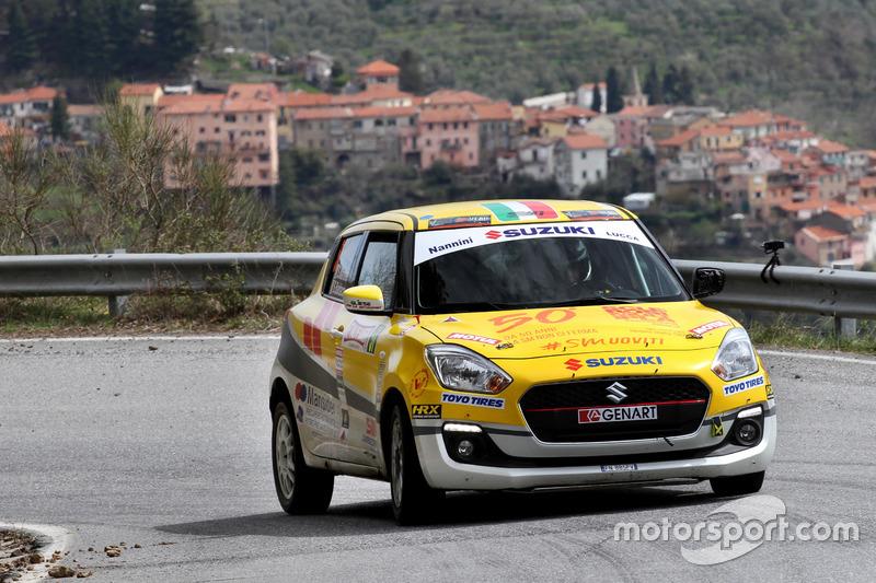 Suzuki Rally Trophy: Rally di Sanremo