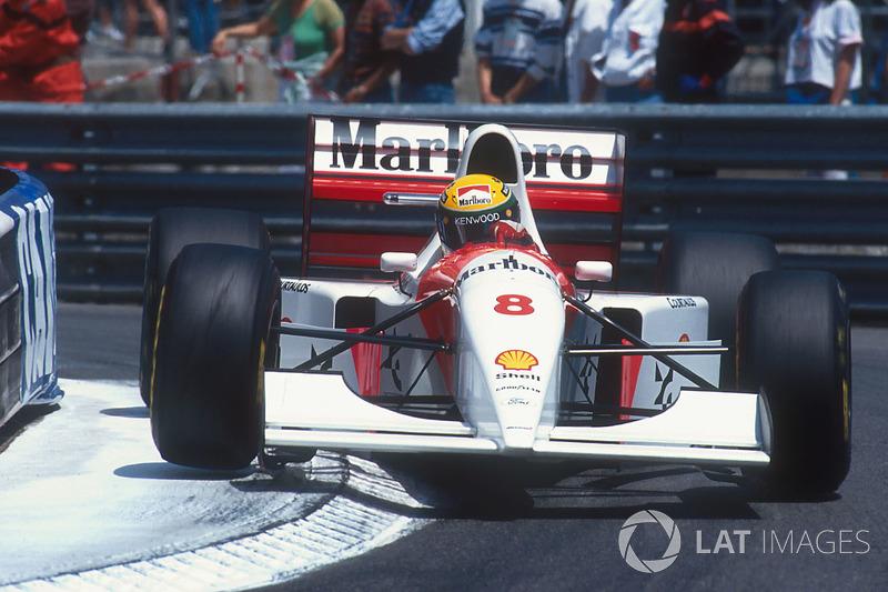 25. Ayrton Senna: 98 grandes premios (el 60,87% de los disputados)