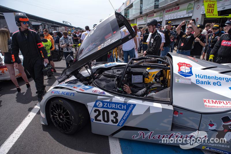 Арне Хоффмайстер, Флориан Вольф, Нильс Юнг, Роберт Шрёдер, Isert Motorsport, KTM X-Bow GT4 (№203)