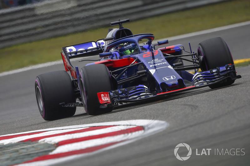 Ausfall: Brendon Hartley, Toro Rosso STR13 Honda