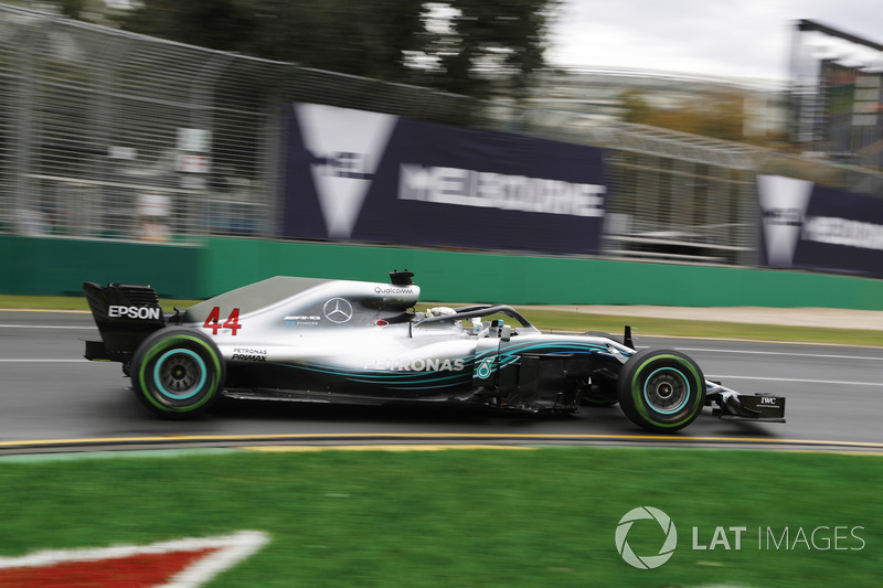 Lewis Hamilton, Mercedes-AMG F1 W09 EQ Power+