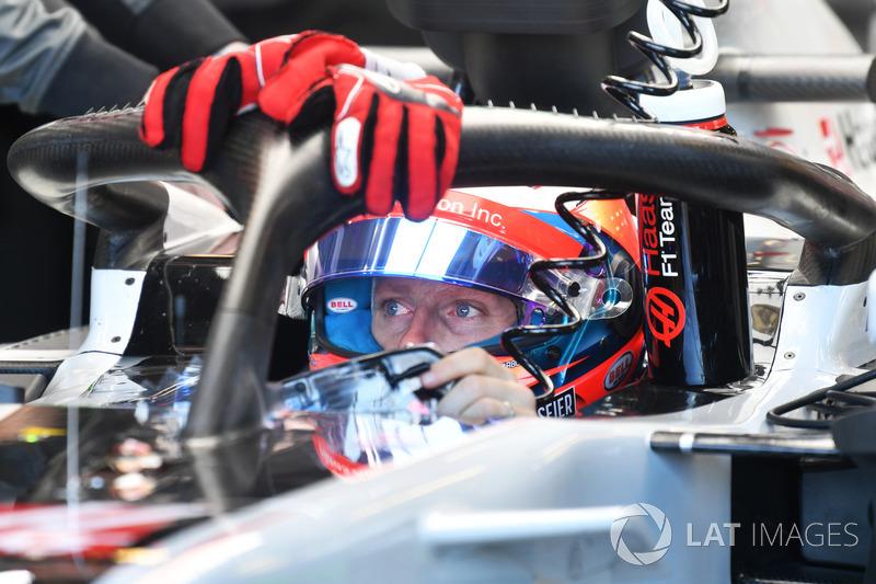 "Romain Grosjean torce para que halo seja ""fase de transição"""
