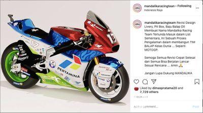 Launching Mandalika Racing Team Indonesia (MRTI)