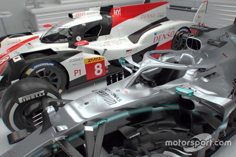 Mercedes F1 vs Toyota LMP1: Comparación técnica