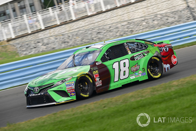 2. Kyle Busch, Joe Gibbs Racing, Toyota Camry M&M's Flavor Vote Winner