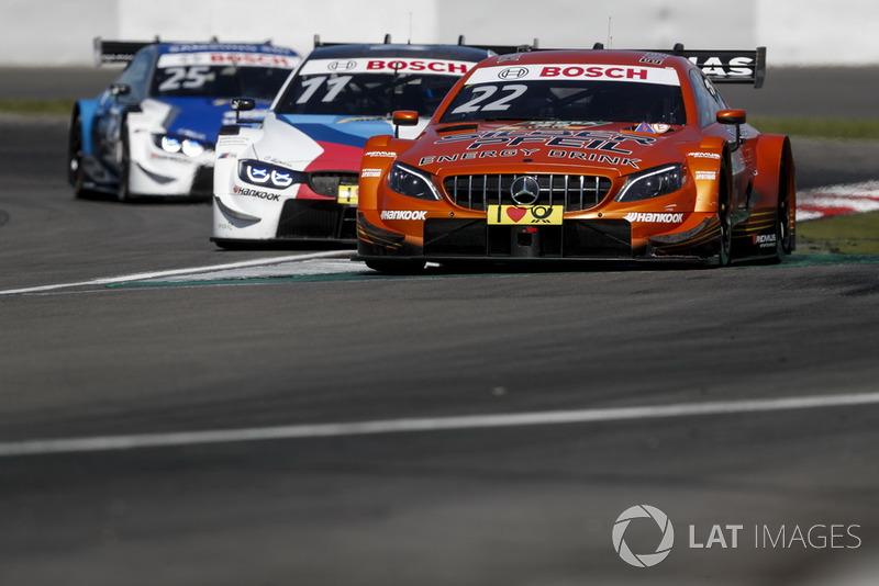 5. Lucas Auer, Mercedes-AMG Team HWA, Mercedes-AMG C63 DTM