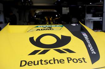 The car of Timo Glock, BMW Team RMG, BMW M4 DTM