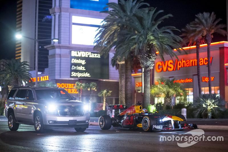 Даниэль Риккардо в Лас-Вегасе